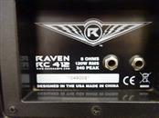 RAVEN WEST GUITAR Speaker Cabinet RC412